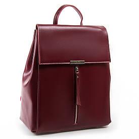 Рюкзак женский кожаный ALEX RAI 03-01 373 красный