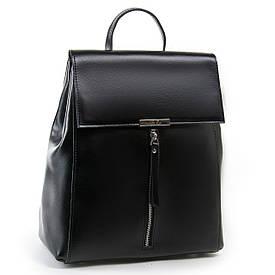 Рюкзак женский кожаный ALEX RAI 03-01 373 черный