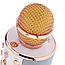 Бездротовий мікрофон WS-858 Bluetooth портативний караоке РІЗНІ КОЛЬОРИ Блютуз з динаміком ВС858 (колонкою), фото 3