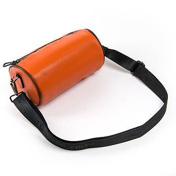 Сумка Жіноча Клатч шкіра ALEX RAI 1-02 39030-10 Оранжевая, фото 2