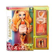 Помаранчева лялька Мосту Хай Поппі Роуен (Rainbow High Poppy Rowan Orange Fashion Doll MGA)