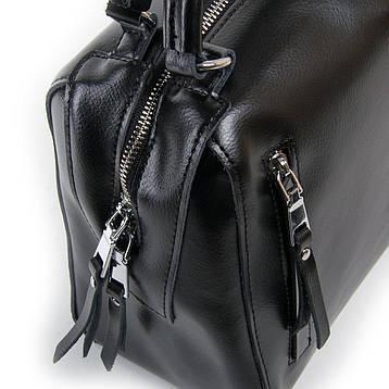 Сумка Женская Классическая кожа ALEX RAI 03-01 8763 Черная, фото 2