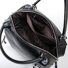 Сумка Женская Классическая кожа ALEX RAI 03-01 8763 Черная, фото 3
