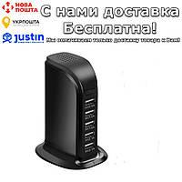 Мини камера 4K WIFI HD 1080P IP USB с 5 разъемами USB Черный