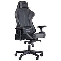 Крісло VR Racer Expert Lord чорний/сірий, TM AMF