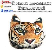 Подушка-подголовник с 3D принтом животных автомобильная 5