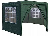 Садовый павильон шатер 4х4м (2х2х2м) 6 стенок