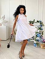 Стильне жіноче легка сукня розкльошені, фото 1