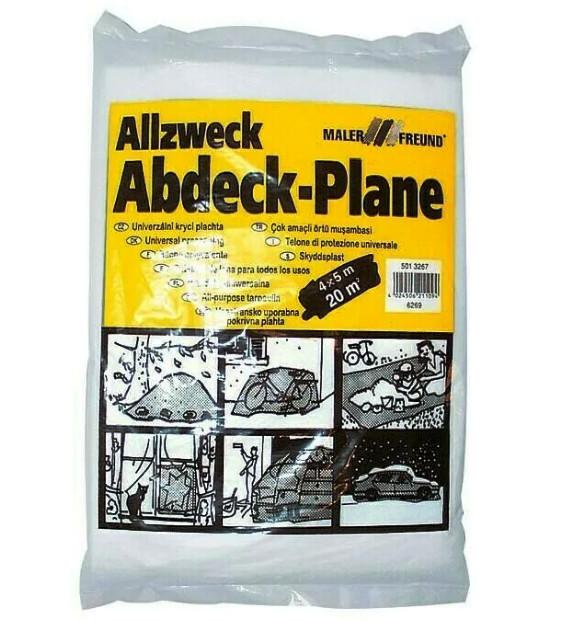 Пленка защитная строительная Allzweck 7мкн 4х5м