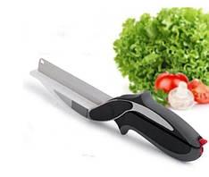 Универсальные кухонные ножницы Clever Cutter  2 в 1 Нож-ножницы