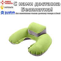 Компактная надувная дорожная подушка Faroot Зеленый