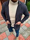Мужской Пиджак Темно-серый, фото 3