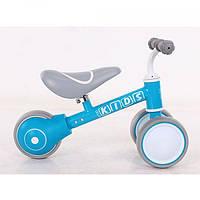 """Дитячий беговел 7 дюйм PROFI KIDS СИНІЙ Велосипед для дітей 7"""" ПРОФІ КИДС синій Велосипед без педалей"""