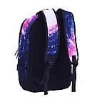 Городской рюкзак галактика(космос) с котом в очках., фото 2