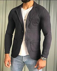 Чоловічий Піджак Темно-сірий