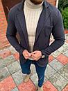 Мужской Пиджак Темно-серый, фото 4