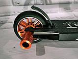 Дитячий трюковий самокат CB-00549 Best Scooter, алюмінієві диски, колеса - 110 мм, пегі, HIC-система, фото 3
