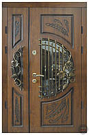 Вхідні двері в будинок двополі