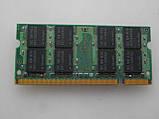 SODIMM DDR2 2GB PC2 оперативна пам'ять Samsung M470T566QZ3-CE6, PC2-5300S, 2GB 2RX8 для ноутбука. бо, фото 2