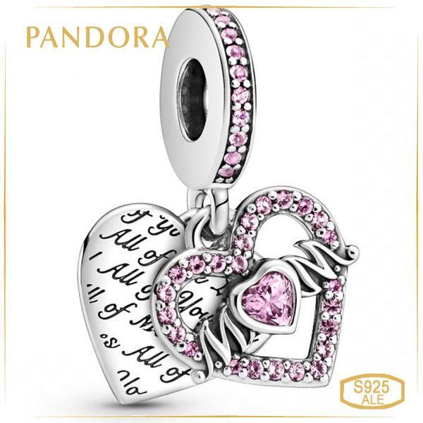 Пандора Шарм-подвеска Сердце и Мама Pandora 799402C01