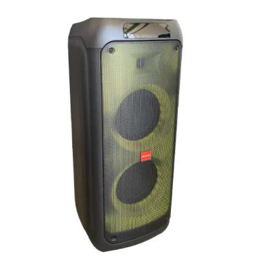 Портативная колонка аккумуляторная с Bluetooth и 2 микрофоном ZXX-5508