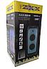 Портативна колонка акумуляторна з Bluetooth і 2 мікрофоном 1000W rms ZXX-5508, фото 5