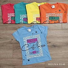 Детская футболка для девочки Paris р.4-8 лет
