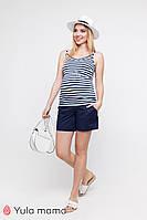 Свободные шорты для беременных в минималистичном стиле SAFO