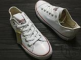 Женские кеды Converse Chuck Taylor All-Star Ox White M7652C, фото 4