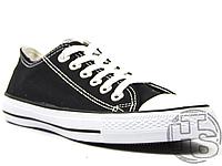Мужские кеды Converse Chuck Taylor All Star Ox Black M9166