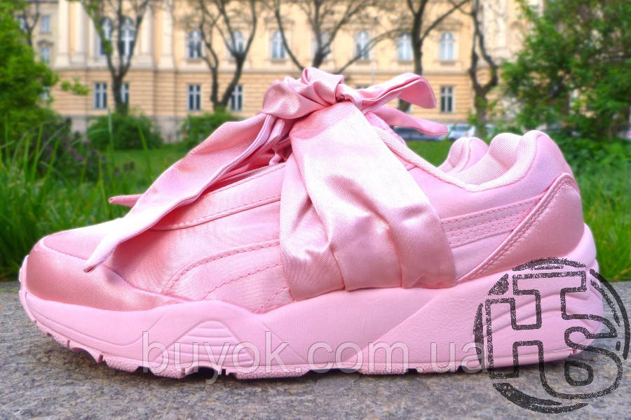 Жіночі кросівки Puma Fenty by Rihanna Bow Sneakers Pink 365054-01