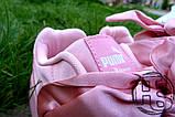 Жіночі кросівки Puma Fenty by Rihanna Bow Sneakers Pink 365054-01, фото 3