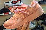 Жіночі кросівки Puma Fenty by Rihanna Bow Sneakers Pink 365054-01, фото 7