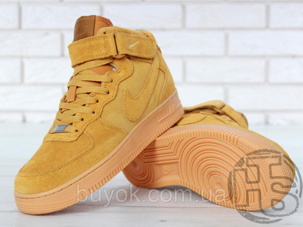 Мужские кроссовки Nike Air Force 1 High '07 LV8 WB Flax 882096-200