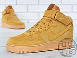 Мужские кроссовки Nike Air Force 1 High '07 LV8 WB Flax 882096-200, фото 2