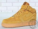 Мужские кроссовки Nike Air Force 1 High '07 LV8 WB Flax 882096-200, фото 3