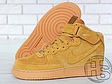 Мужские кроссовки Nike Air Force 1 High '07 LV8 WB Flax 882096-200, фото 4