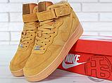 Мужские кроссовки Nike Air Force 1 High '07 LV8 WB Flax 882096-200, фото 6