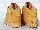 Мужские кроссовки Nike Air Force 1 High '07 LV8 WB Flax 882096-200, фото 7
