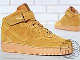 Мужские кроссовки Nike Air Force 1 High '07 LV8 WB Flax 882096-200, фото 8