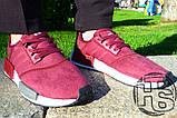 Жіночі кросівки Adidas NMD R1 Maroon S75231, фото 6