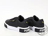 Жіночі кросівки Puma Cali Black White 369155-03, фото 3