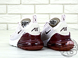 Жіночі кросівки Nike Air Max 270 Pink/Vintage Wine-White AH6789-601, фото 3