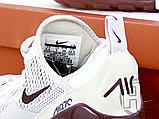 Жіночі кросівки Nike Air Max 270 Pink/Vintage Wine-White AH6789-601, фото 6