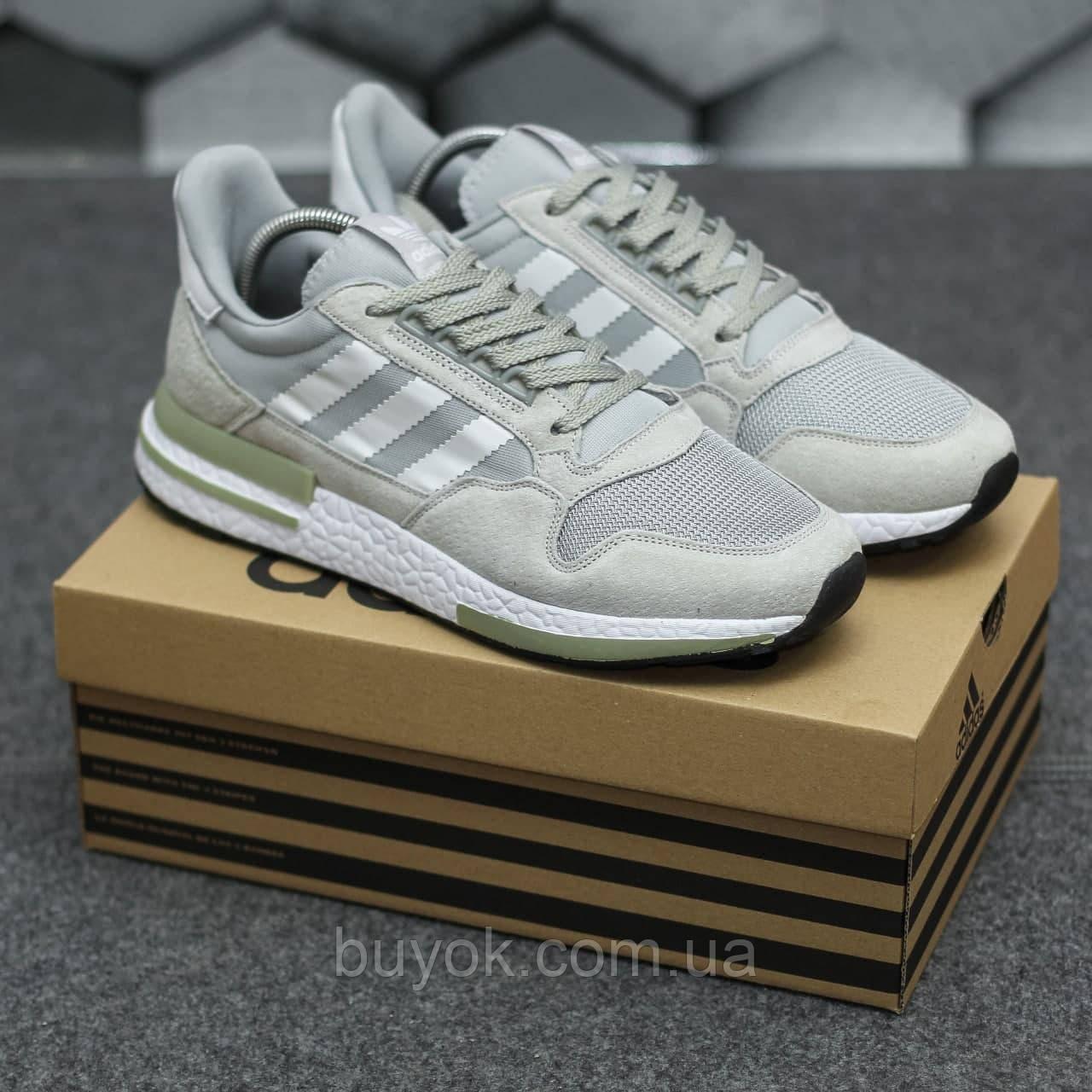 Мужские кроссовки Adidas ZX500 RM Grey ALL05956