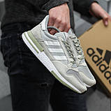 Мужские кроссовки Adidas ZX500 RM Grey ALL05956, фото 5