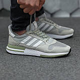 Мужские кроссовки Adidas ZX500 RM Grey ALL05956, фото 6