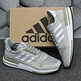 Мужские кроссовки Adidas ZX500 RM Grey ALL05956, фото 7