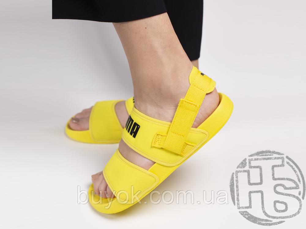 Женские шлепанцы Hyuna x Puma Leadcat YLM Lite Sandal Yellow 37073304