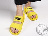 Женские шлепанцы Hyuna x Puma Leadcat YLM Lite Sandal Yellow 37073304, фото 2
